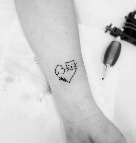 Tatuajes De Perros Y Gatos Ideas Para Recordar Fotos Mujeralia