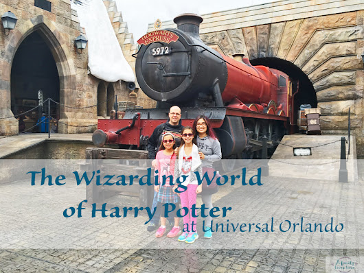The Wizarding World of Harry Potter at Universal Orlando - A Family Lives Here