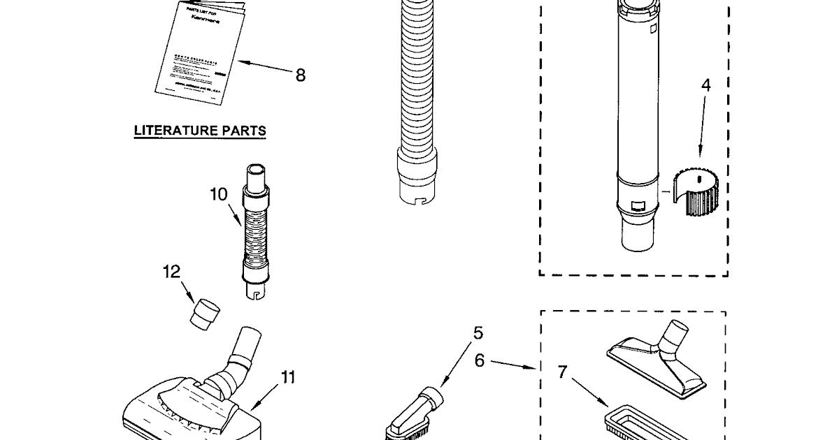 32 Kenmore Progressive Vacuum Parts Diagram