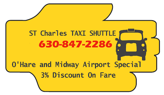 Taxi To O'Hare From St Charles | 630-847-2286 | Taxi To Midway From St Charles