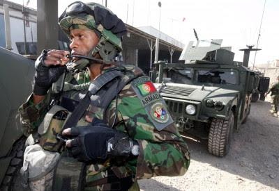 Portugal altera missão mas mantém-se no Afeganistão