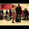 Woman Dances Like Nobody is Watching at LAX Airport