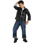 Child Greaser Jacker Costume - 67931 - Black - Medium