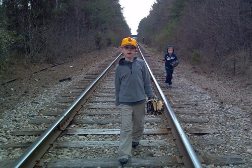 bros. on tracks