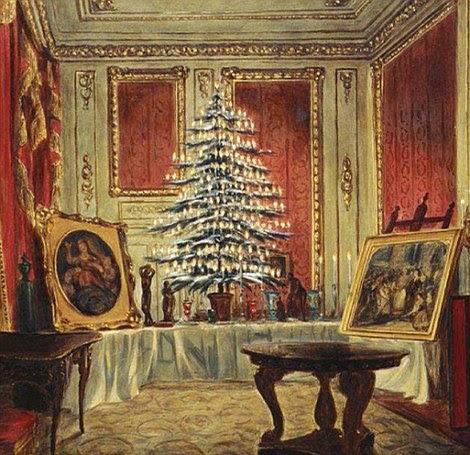 William Coden, o Jovem Rainha Vitória árvore de Natal de 1851