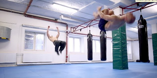 This 'Zero Gravity Workout' Doesn't Even Look Real