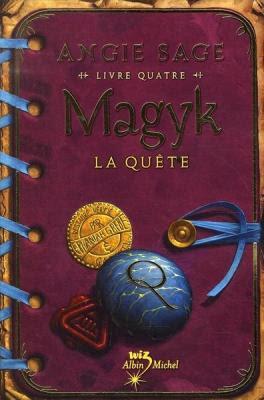 Couverture Magyk, tome 4 : La quête