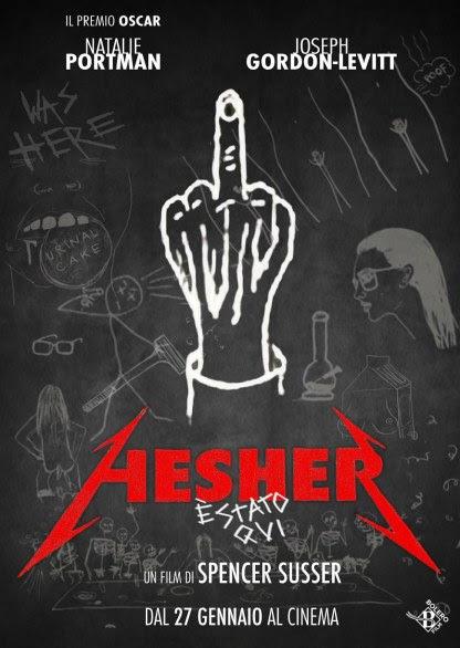 Risultati immagini per hesher movie poster