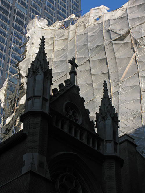 St. Malachy's Roman Catholic Church, 49th Street, Manhattan, NYC