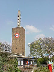 Osterley Tube Station, London