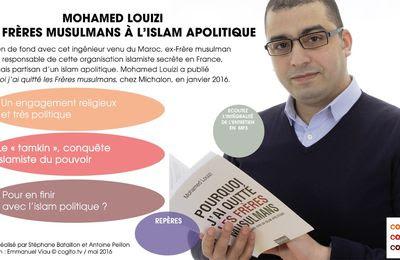 «La France et l'islamisme : J'entame un jeûne de protestation volontaire» annonce Mohamed Louizi.