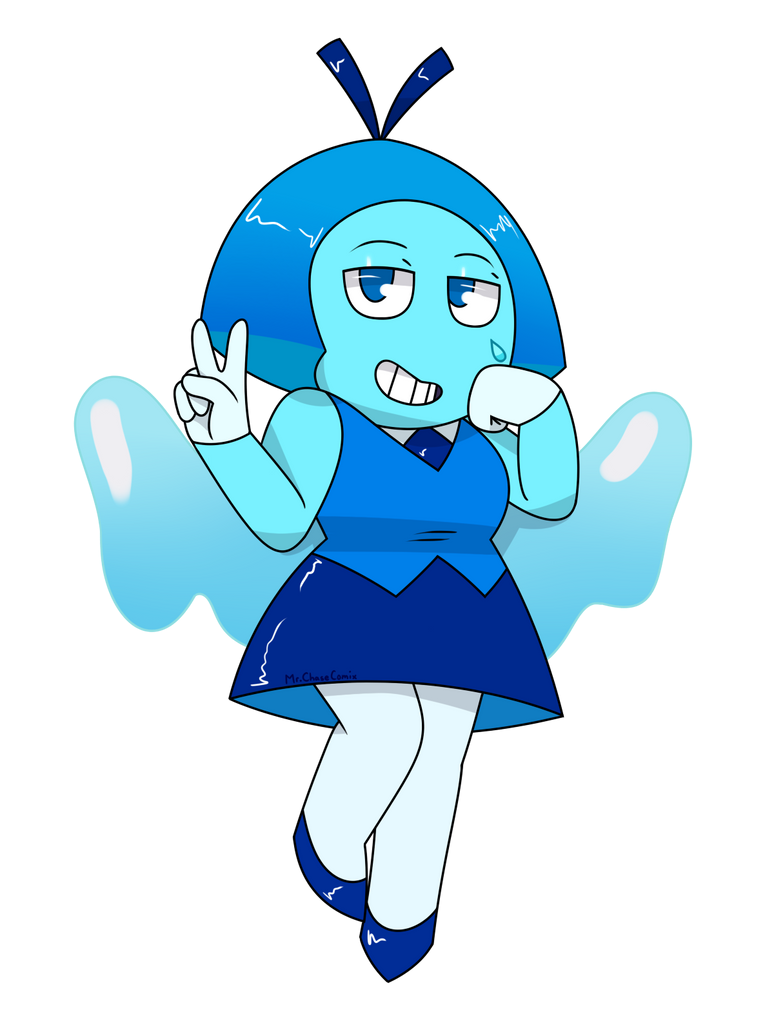 I wanted to draw the new gem today. In the future, I might draw the two topaz as well.