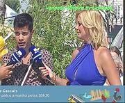 Vanessa Oliveira sensual em vários programas na Rtp