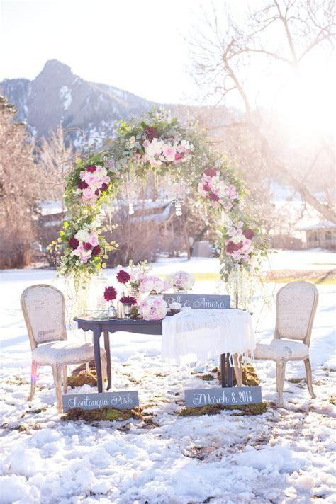 Repost: Romantic Winter Marriage Proposal in Boulder