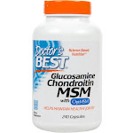 Doctors Best Glucosamine Chondroitin MSM, Capsules - 240 count