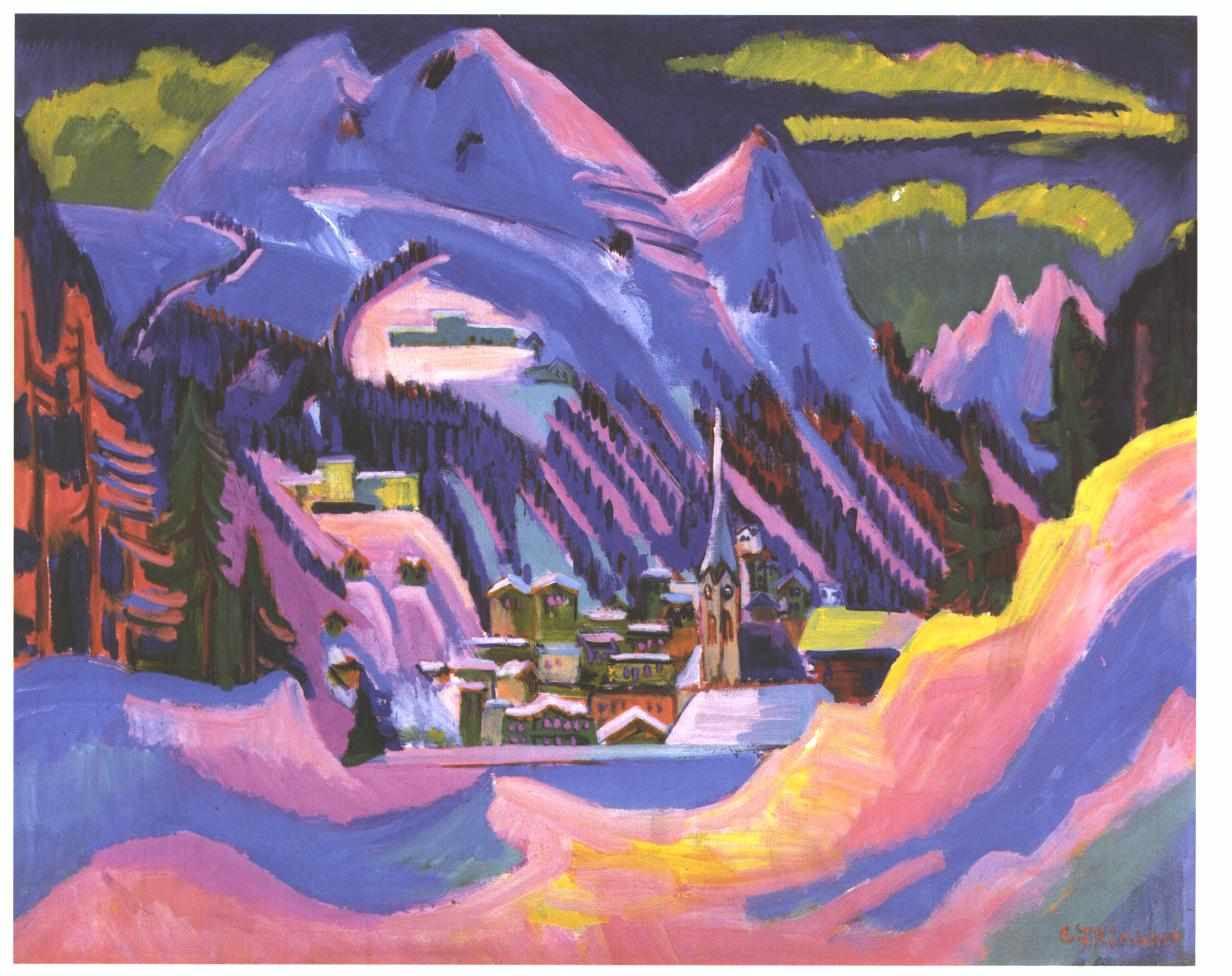 http://upload.wikimedia.org/wikipedia/commons/0/00/Kirchner_-_Davos_im_Schnee.jpg
