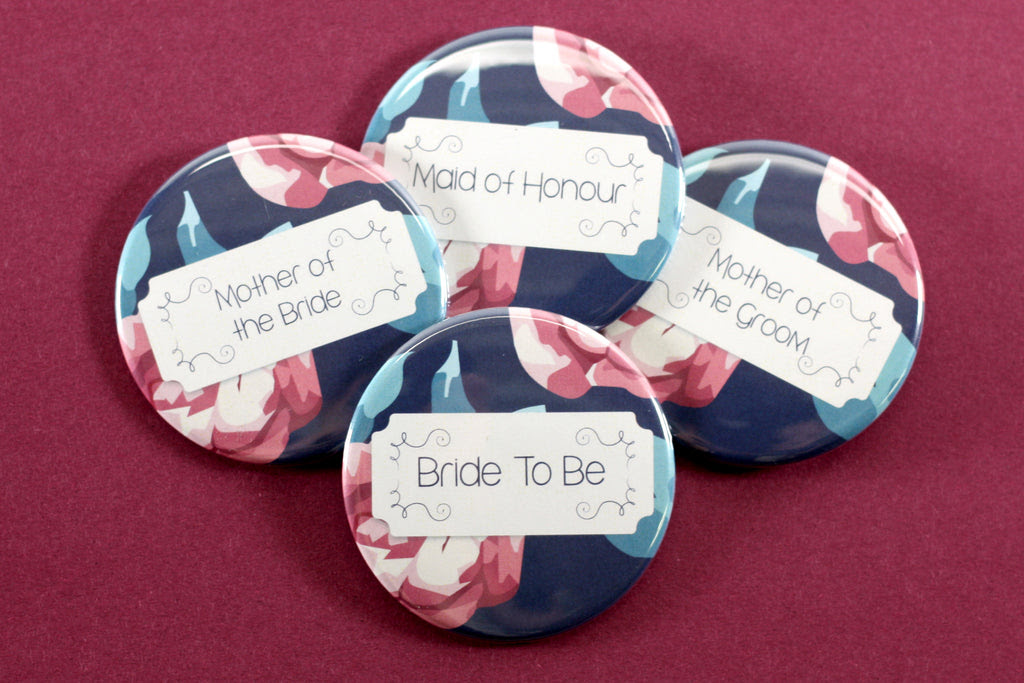 How To Design Your Own Bridal Shower Buttons People Power Press