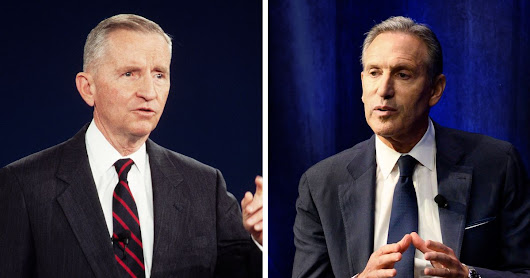 If Ross Perot Couldn't Win, Howard Schultz Has Little Hope
