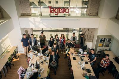 塔圖科技是個年輕的團隊,目標東協市場,希望在3~5年後,能在東南亞擁有5~10億元的市場。 (莊坤儒攝)