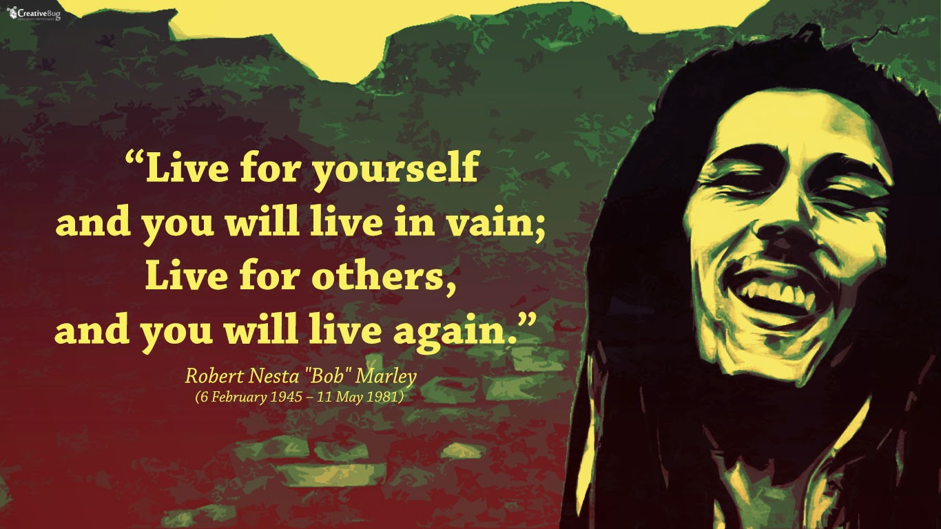 bob marley love quotes pictures Bob Marley quotes free