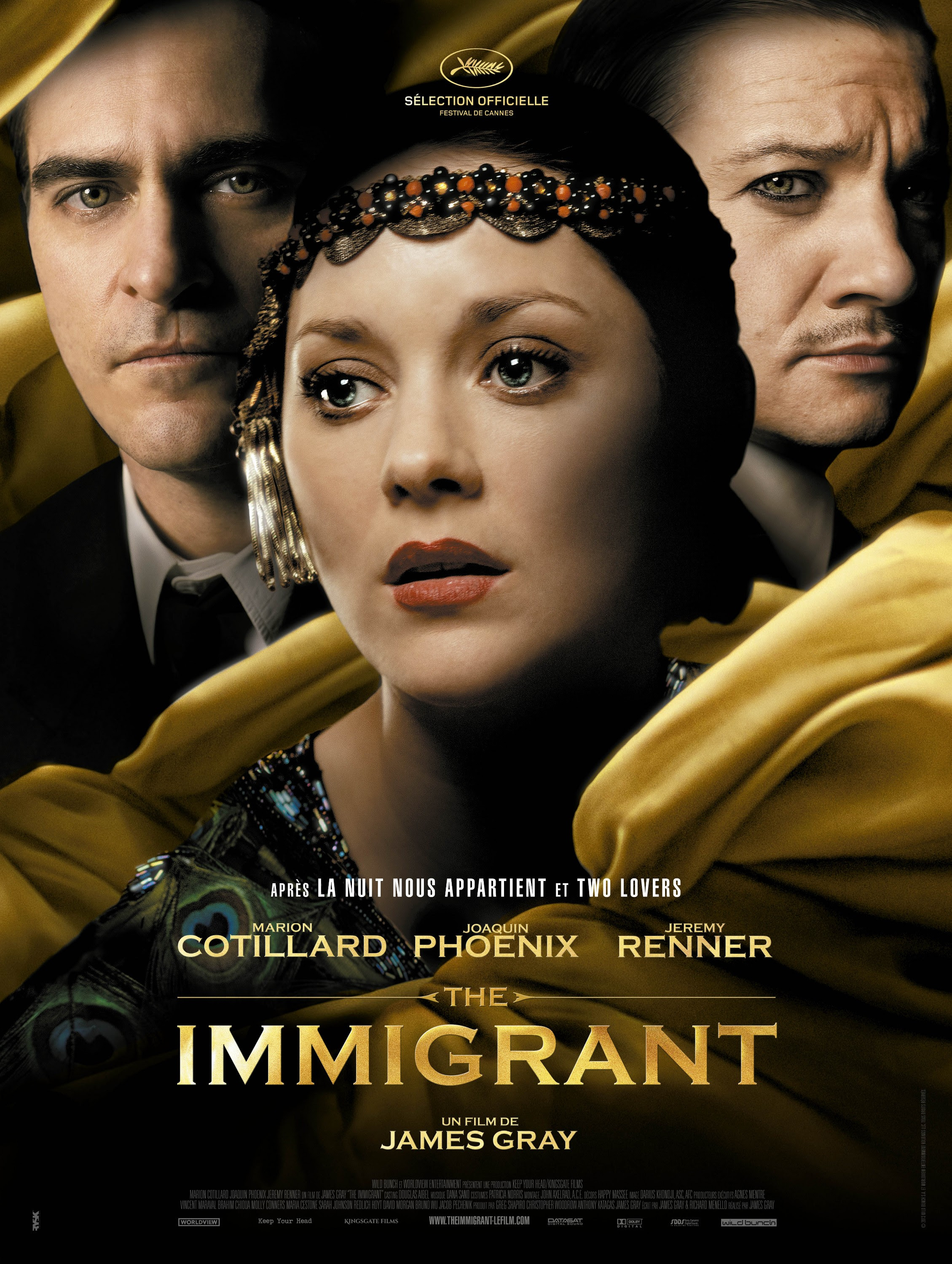Resultado de imagen para the immigrant movie poster