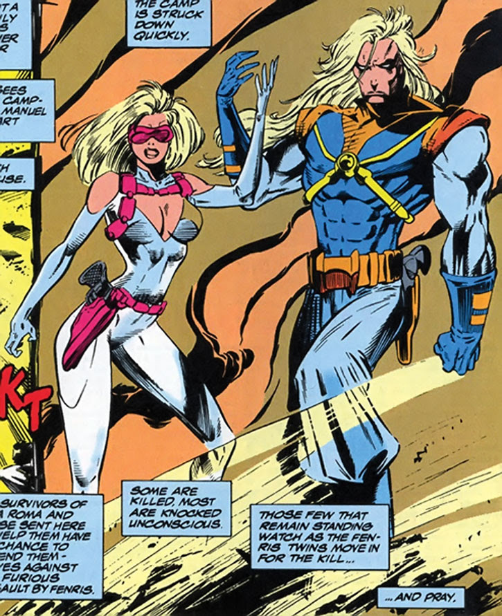 Know Your X Men In The Gifted