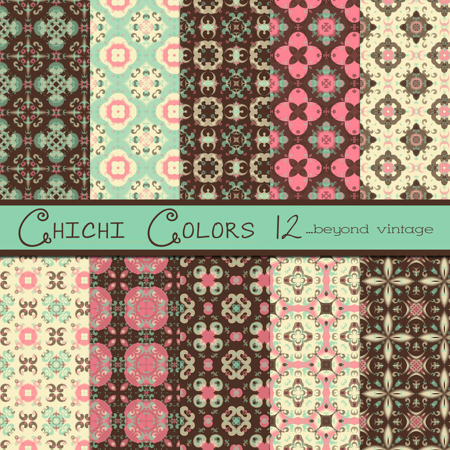 Free Chichi Colors 12 by TeacherYanie