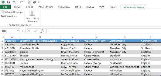 How to Link Postcodes to Parliamentary Constituency Information – Map Logic