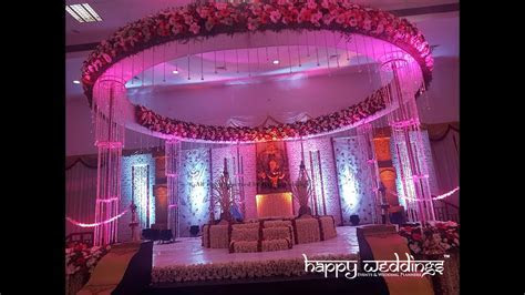 Kerala Hindu wedding stage by best wedding planners in
