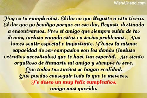 Hoy Es Tu Cumpleaños El Día Felicitaciones De Cumpleaños Para Mi