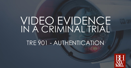 Is a Video of a Video Admissible in a Criminal Trial? State v. Fowler (2018)