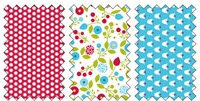 Summer smooches fabric