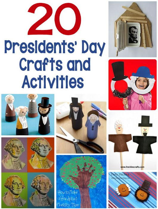 20 Presidents' Day Crafts and Activities – About Family Crafts