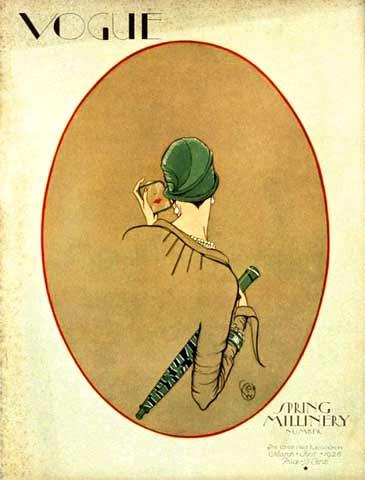 Porter Woodruff, Vogue, magazine cover, March 01 1926