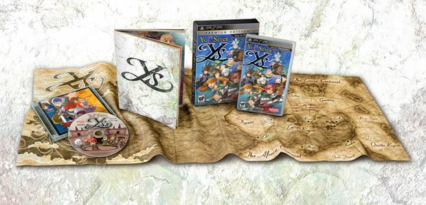 Ys Seven limited edition, 'Name in Game' contest screenshot