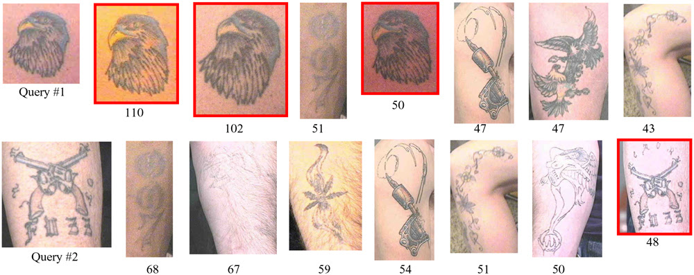 Lee have created a computer system for law enforcement called Tattoo ID.