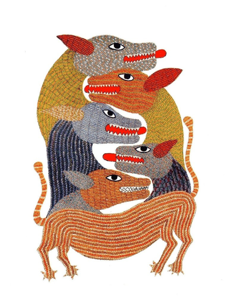 Signature - Patterns in Gond Art (Tara Books)  006