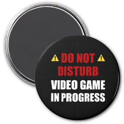 Do Not Disturb Video Game Magnet