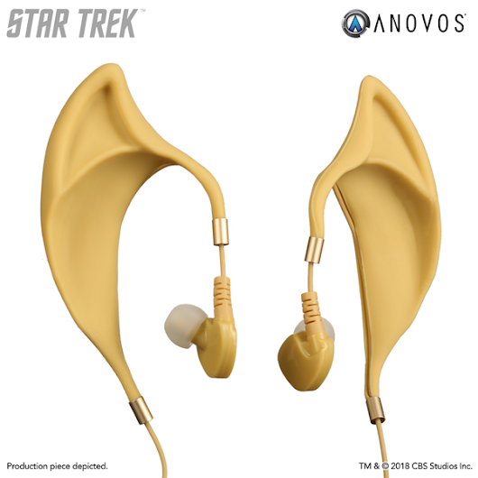 "STAR TREK™ Vulcan Earbuds with Inline Remote and Mic - Wireless ""Spock 