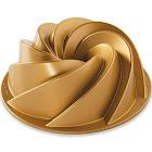Nordic Ware 6 Cup Heritage Bundt Pan, Gold