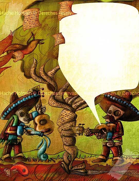 Literatura mejicana por Hache Holguín