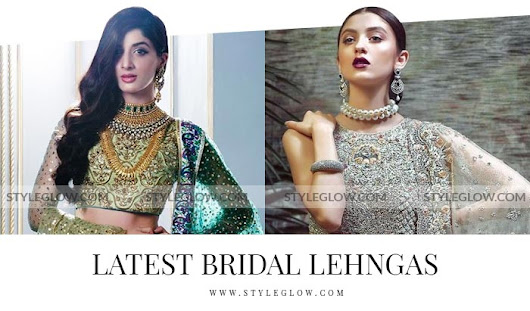 Latest Bridal Lehenga Designs 2018 in Pakistan - StyleGlow.com