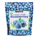 Kirkland Organic Dried Blueberries - 20 oz pouch