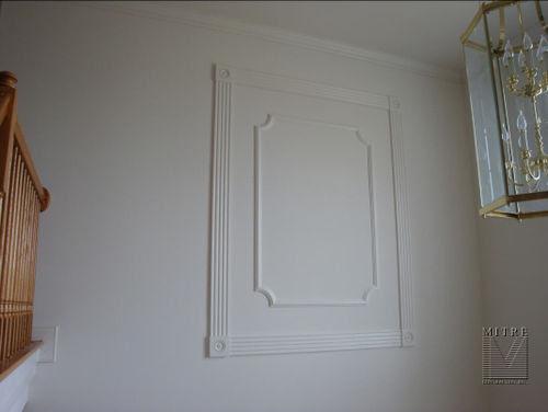 Decorative Moulding Wall Treatment - MITRE CONTRACTING, INC.