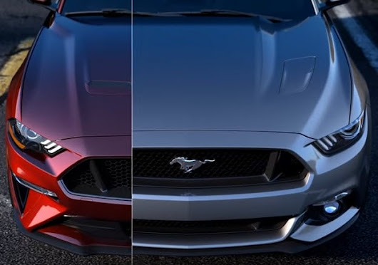 Video: 2018 Ford Mustang Gets a New Look
