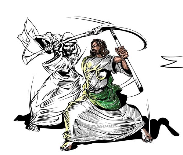 La Santa Muerte Y San Judas Tadeo Imágenes De La Santa Muerte