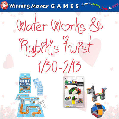 Works & Rubik's Twist games from Winning Moves Giveaway