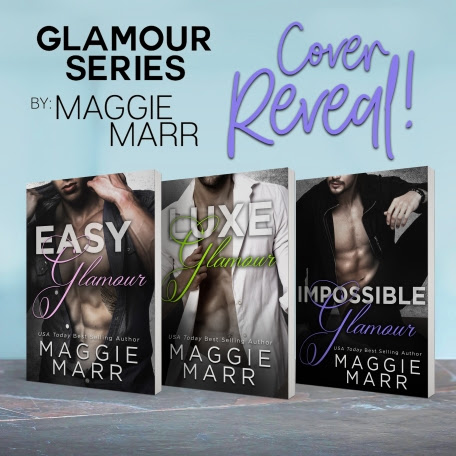 Cover Reveal - Glamour Series 4-6 by Maggie Marr ~ Jeris Book Attic