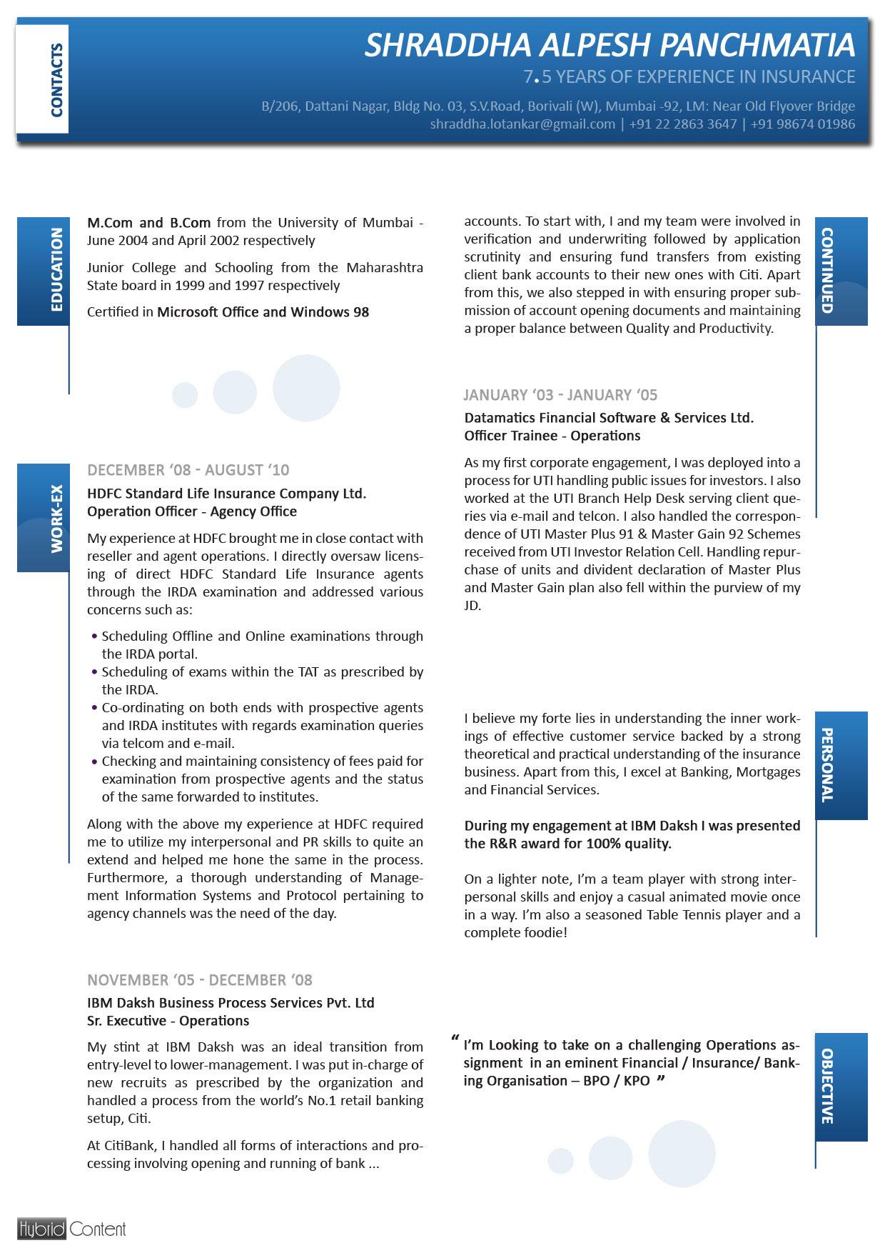 Resumescv Resume Cv And Biodata