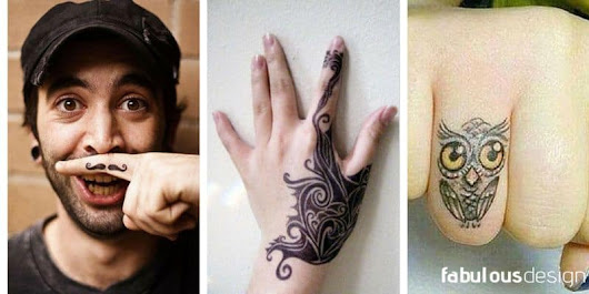 81 Most Exquisite Finger Tattoos Of All Time